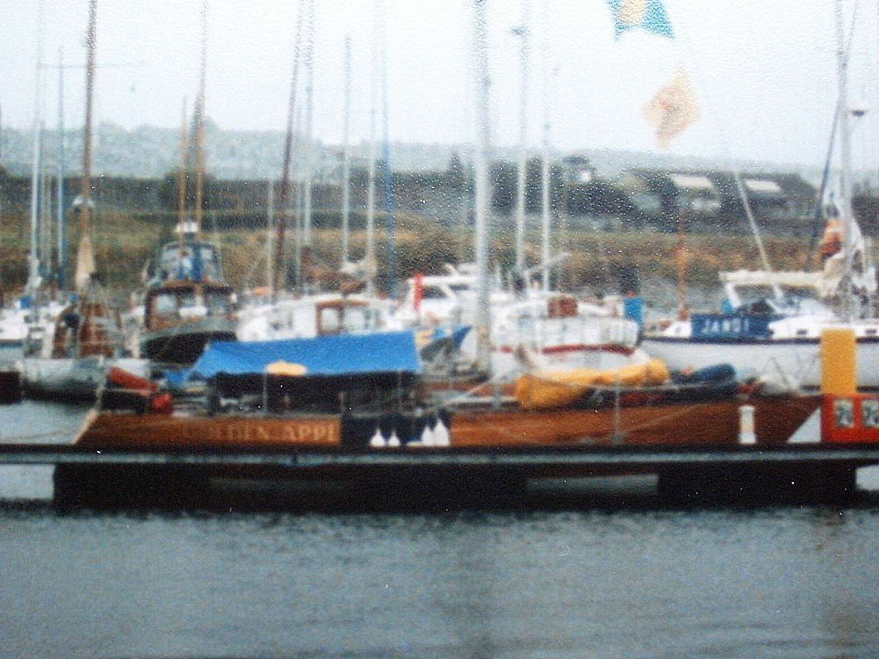 Shockwave40 Golden Apple 1987 Fastnet Race Plymouth