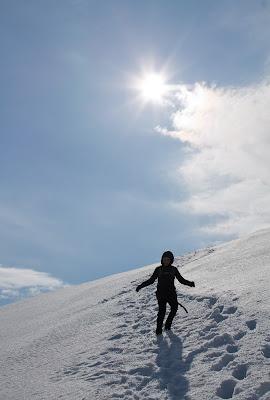 Północny Punkt Widzenia: Moja własna Śnieżka. Zejście z Haldde.