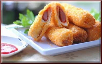 Resep Sandwich Goreng Isi Sosis