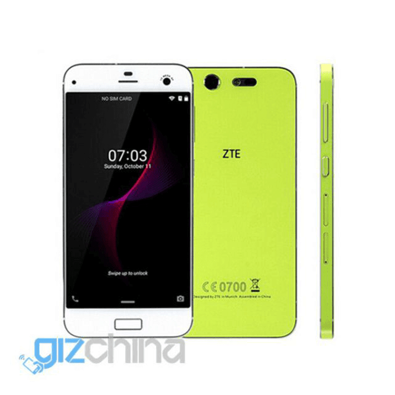 ZTE Blade S7 Released! Comes With 3 GB RAM, Fingerprint Sensor And LTE! Priced At USD 277.99!