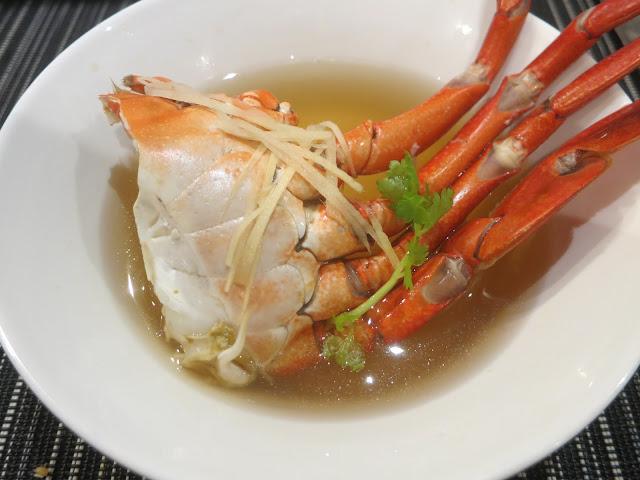 Ginger Hua Tiow Crab