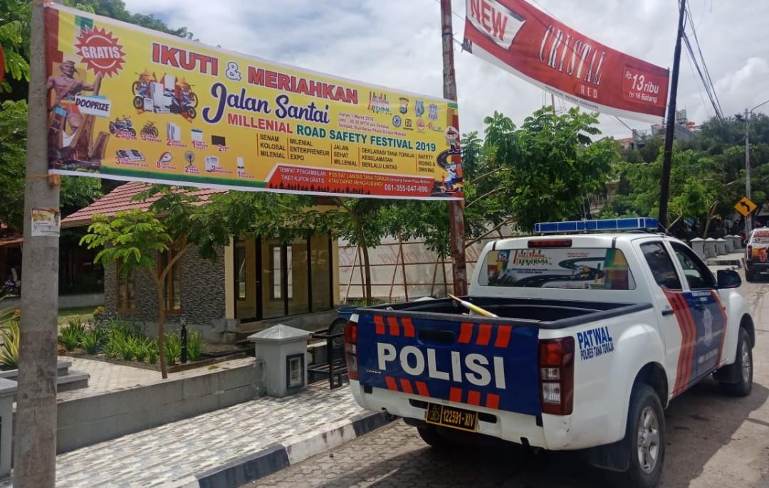 Gelar Millennial Road Safety Festival, Polres Tana Toraja Siapkan Banyak Hadiah Menarik Loh