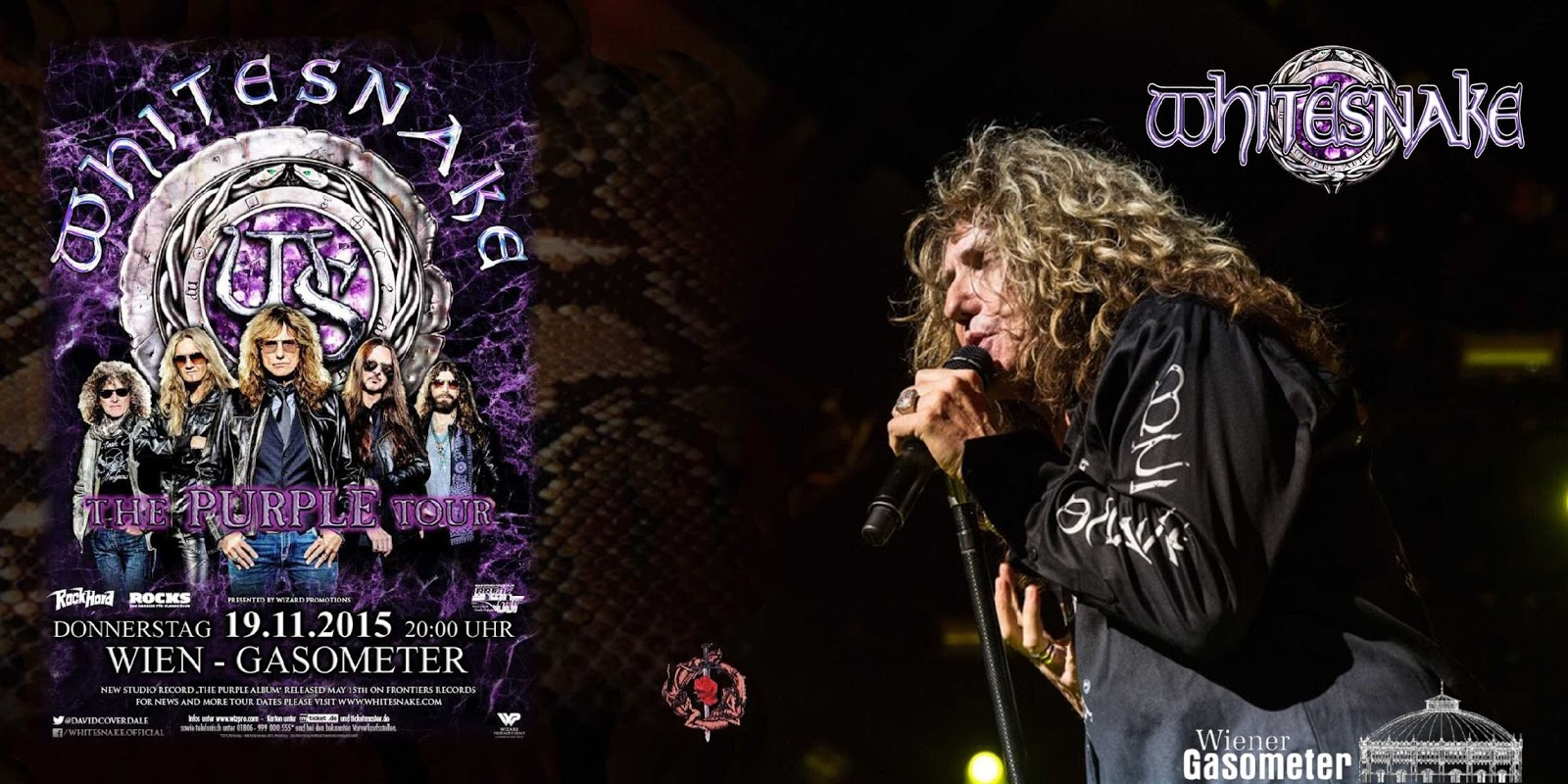 Whitesnake Tour 2017 Italia | lifehacked1st.com