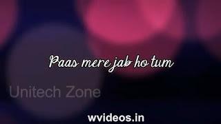 Jeene Laga Hoon Whatsapp Status Love Video