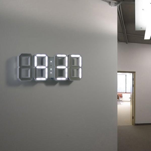 часы электронные настенные светящиеся цифровые
