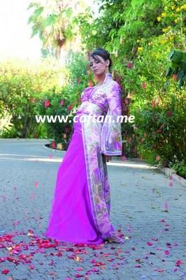 caftan violet claire : 200 147 | CaftanGallery.com