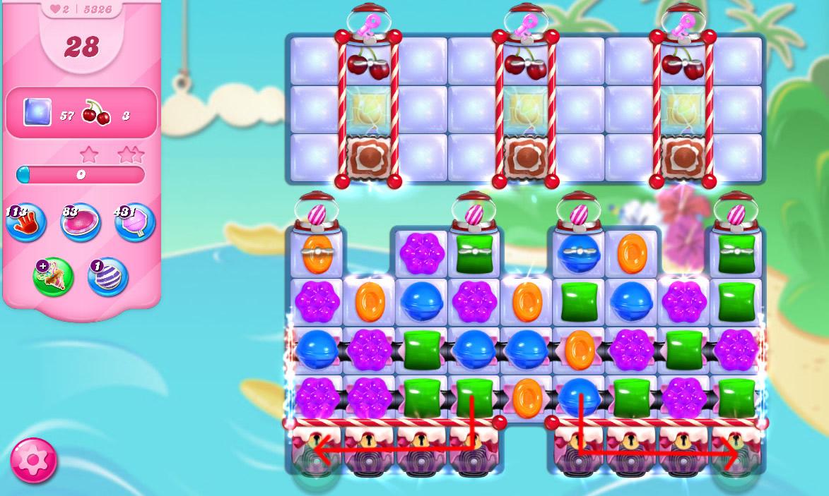 Candy Crush Saga level 5326