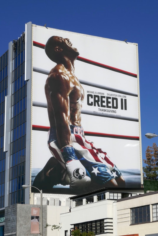 Giant Creed II movie billboard