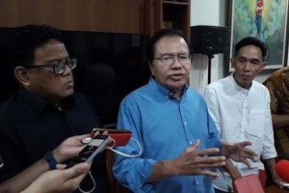 Rizal Ramli: di Negara Otoriter 'Penipuan dan Kebohongan' dg Mudah diubah Jadi  'Kemenangan'