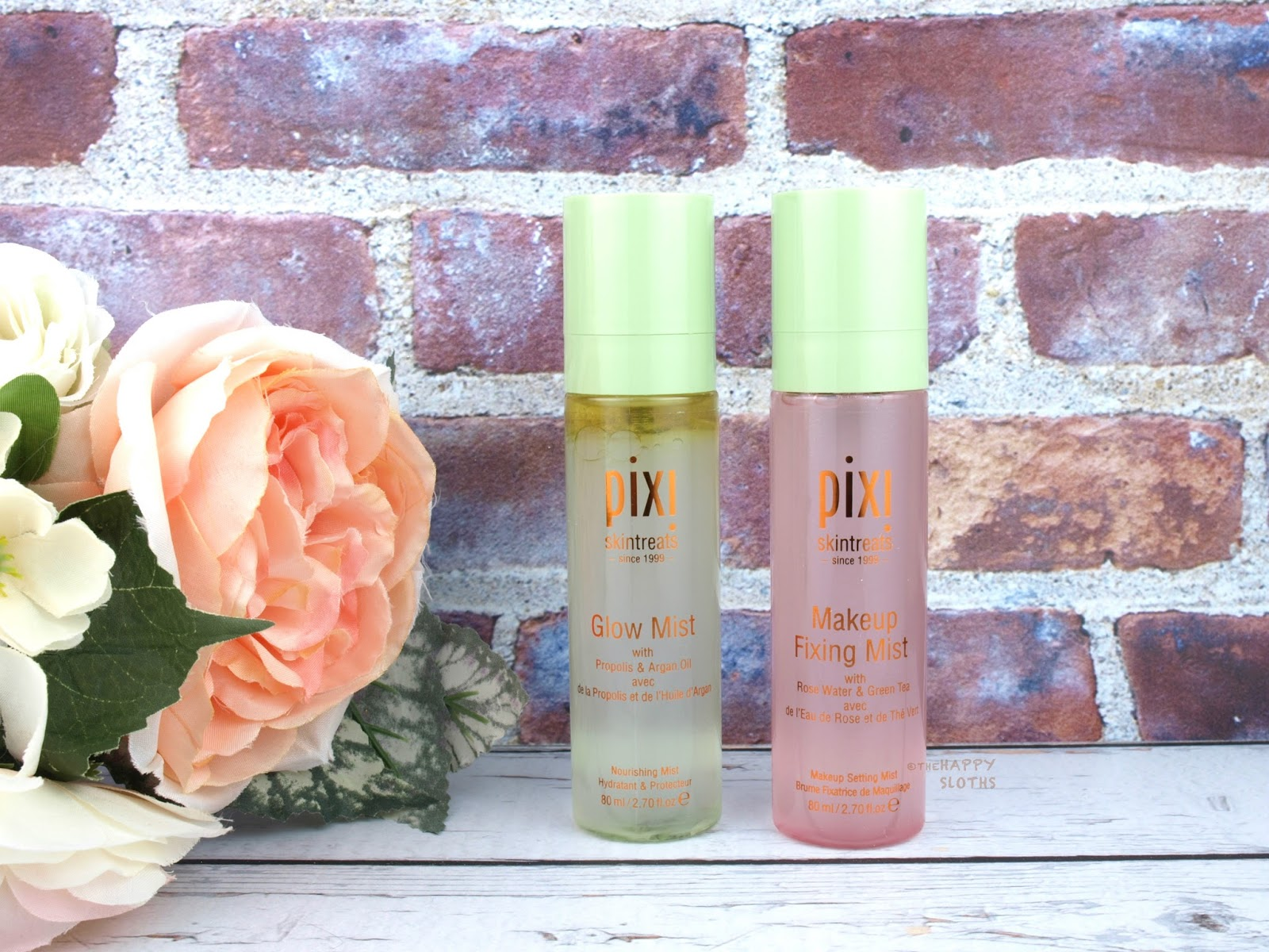 Pixi Skintreats | Makeup Fixing Mist & Glow Mist: Review