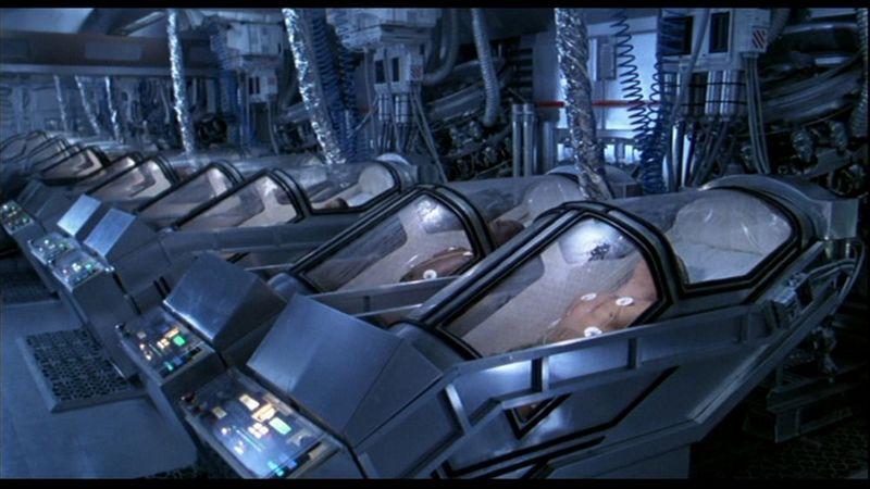 cryogénisation ou hypersleep voyage spatial