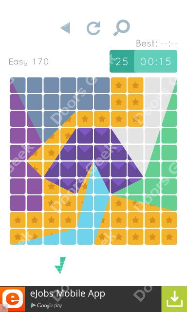 Cheats, Walkthrough for Blocks and Shapes Level 170