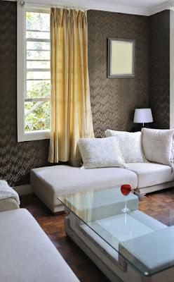 ตกแต่งผนังบ้านด้วย Textured Wallpaper