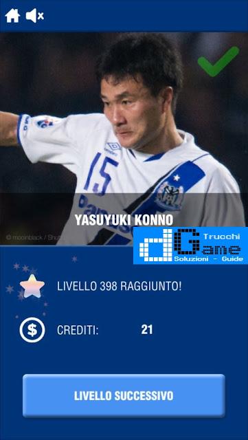 Calcio Quiz 2017 soluzione livello 391-400 | Parola e foto
