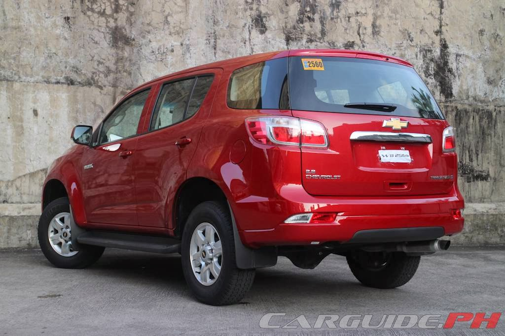 Review 2014 Chevrolet Trailblazer 28 4x2 At Philippine Car News