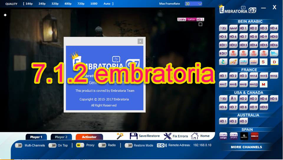 embratoria g7.1.3 pour pc