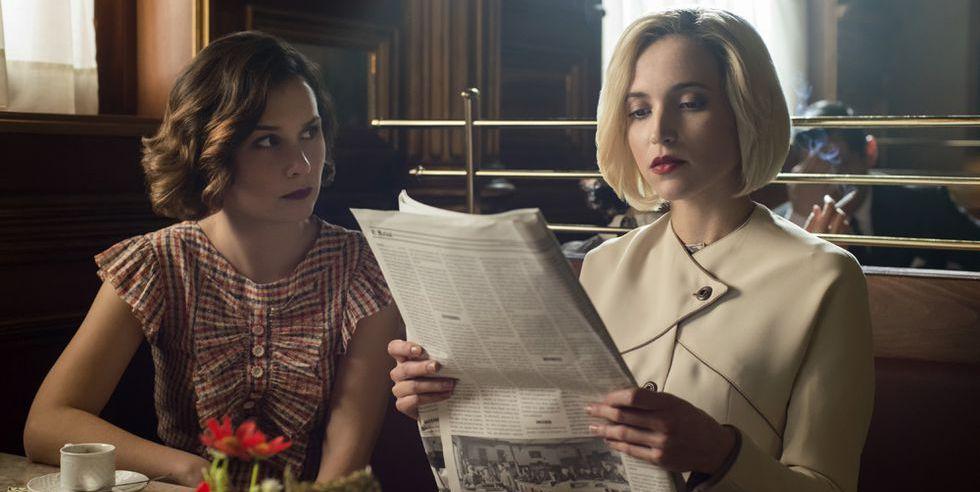 Marga y Carlota en la tercera temporada de 'Las Chicas del Cable'