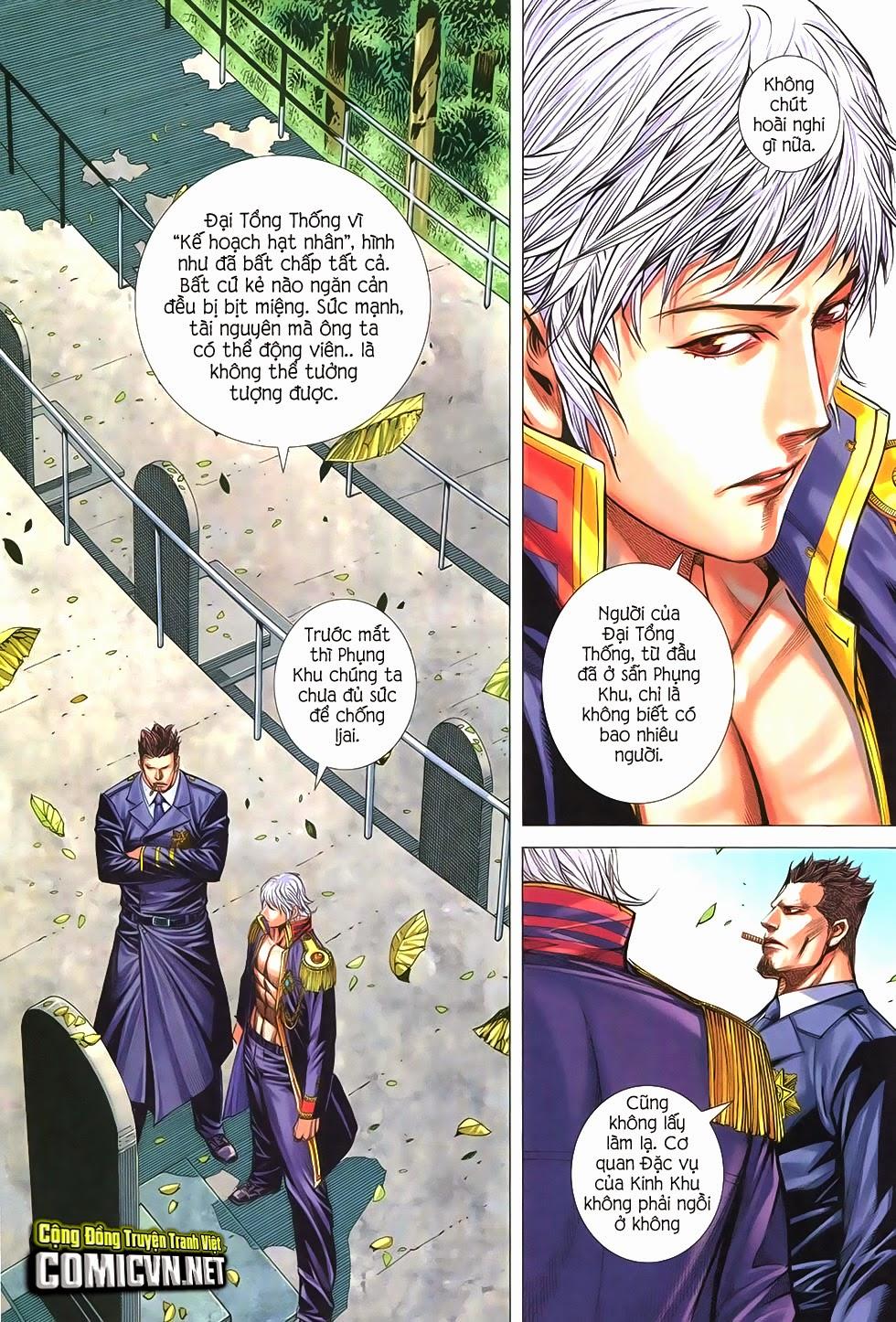 Đại Quân Phiệt chap 21 trang 21