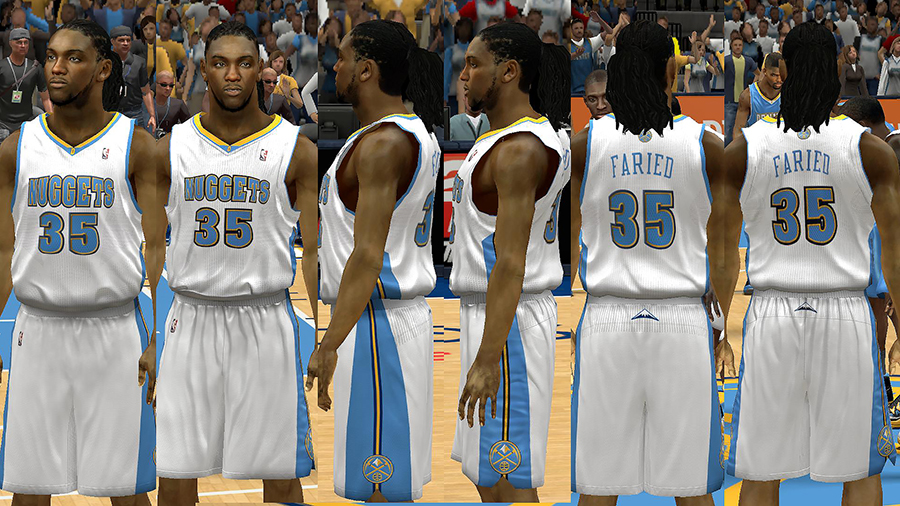 1195625f3704 ... NBA 2K14 Denver Nuggets Jersey Pack - NBA2K.
