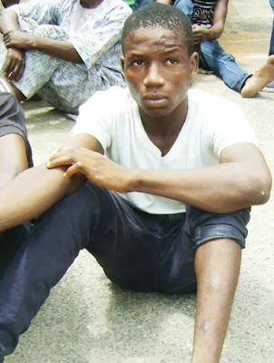 mother disowns son armed robbery lagos