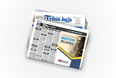 iklan motor dijual di koran tribun jogja