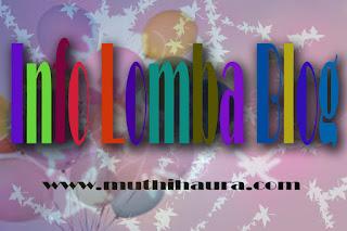 info lomba blog