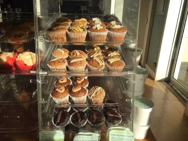 Fresh baked goodies at Hansa Coffee Roasters.