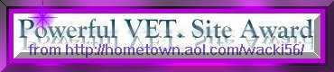 POWERFUL VET. SITE AWARD