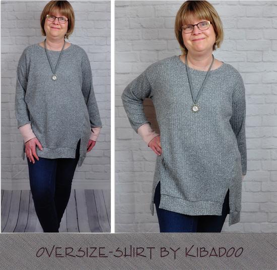 Oversize-Shirt by Kibadoo