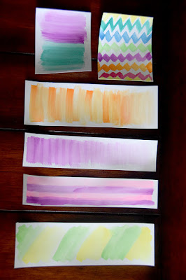 watercolor bookmark designs gift idea for mother's day