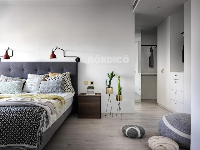 Proiect de amenajare scandinavă pentru un apartament din Taiwan