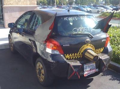 Auto de fanático de batman- diseño del batimovil