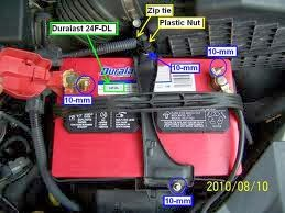 How To Change The Honda Odyssey Battery