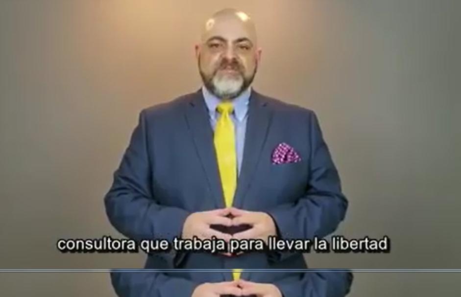 Christopher Gergen, presidente de Dark Horse Political, se dirigió a Bolivia en un video viral / RRSS