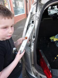 ford focus estate brake light bulb replacement