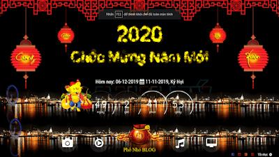SHARE TEMPLATE ĐẾM NGƯỢC TẾT CANH TÝ 2020 VERSION 4