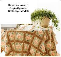 Örgü Battaniye Modeli Yapımı Videolu