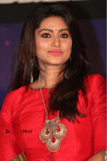 Actress Sneha Latest Stills in Red Dress at Simba Audio Launch  0002.jpg
