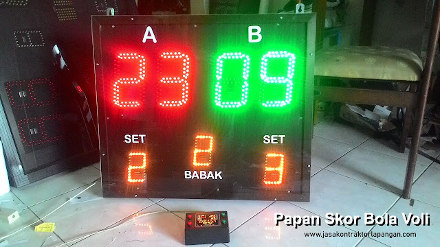 Papan Skor Digital Bola Voli