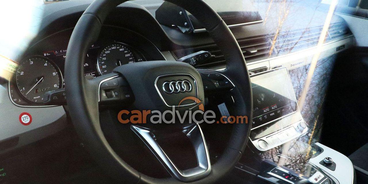 Nọi thất xe Audi Q8 đời mới model 2019 nhập khẩu nguyên chiếc về vn