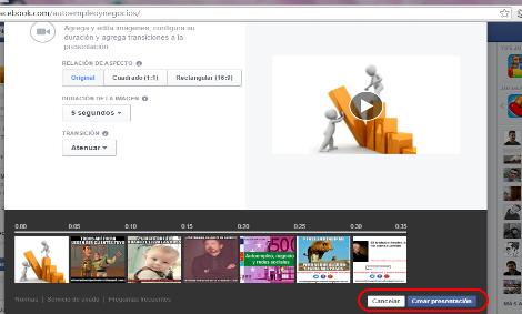 vídeo presentaciones en facebook 12