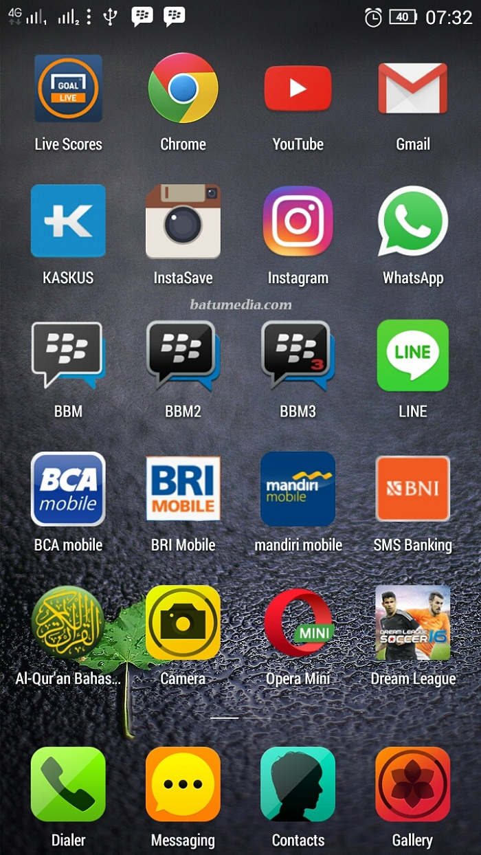 Home Screen Founder Batu Media
