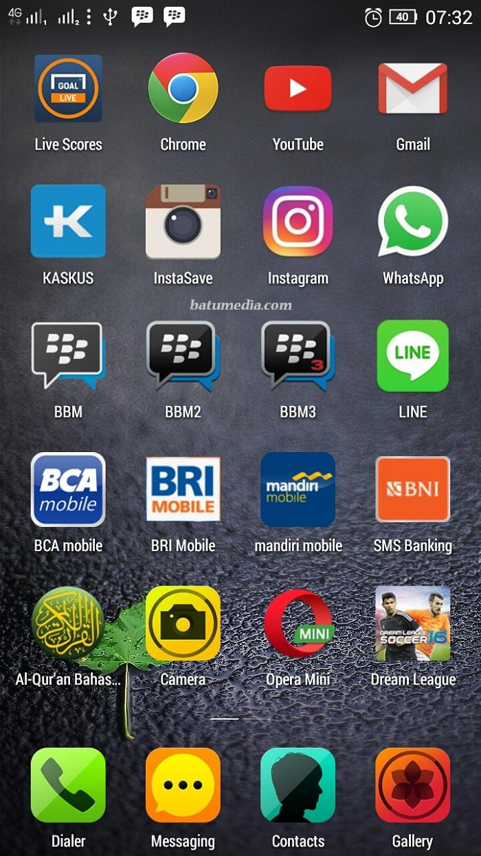 Home Screen Founder Batu Media