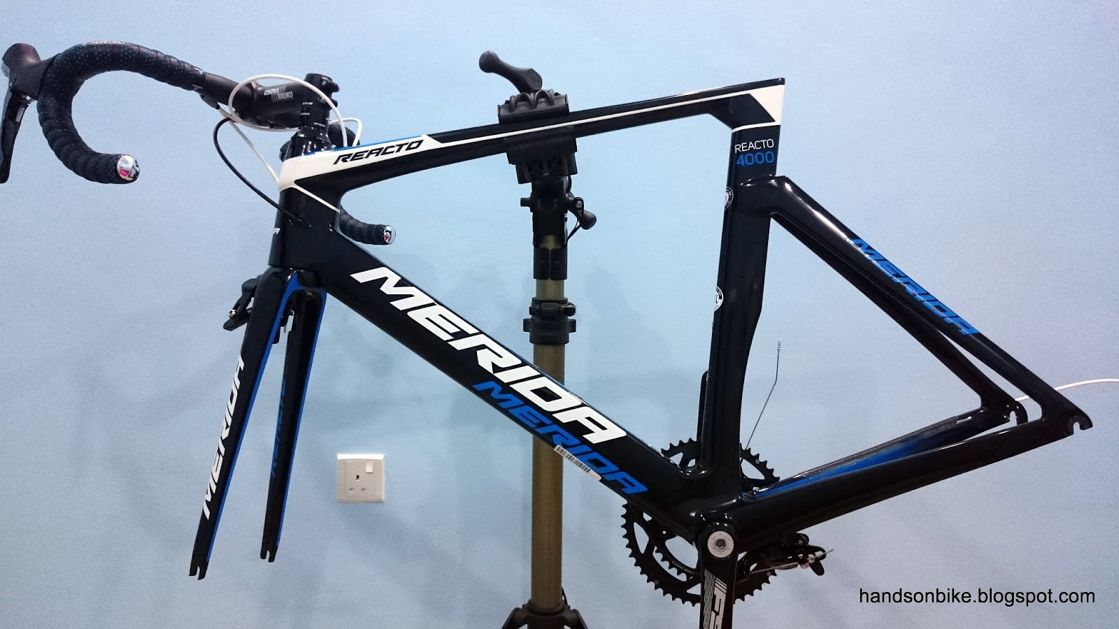 Hands On Bike: Merida Reacto 4000: Part 1 - Introduction and Disassembly