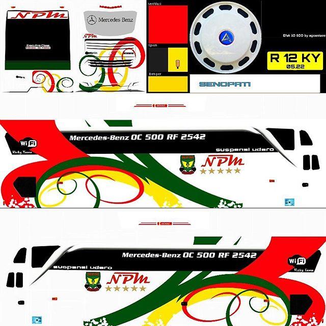 livery bus shd monster sticker by hernahernawan8. Livery Jb Shd Npm