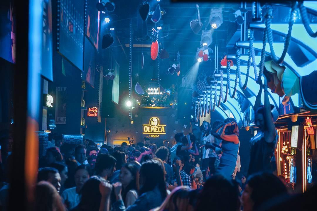 Almaty strip club