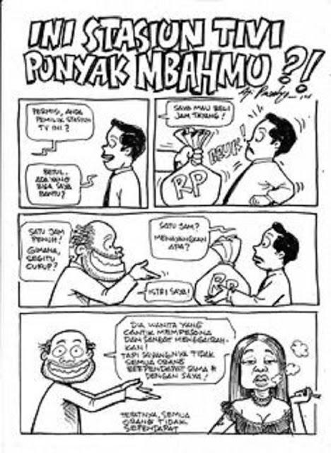 gambar ilustrasi komik