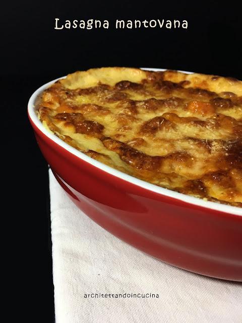 Architettando in cucina lasagna mantovana con amaretti for Mostarda di mele mantovana