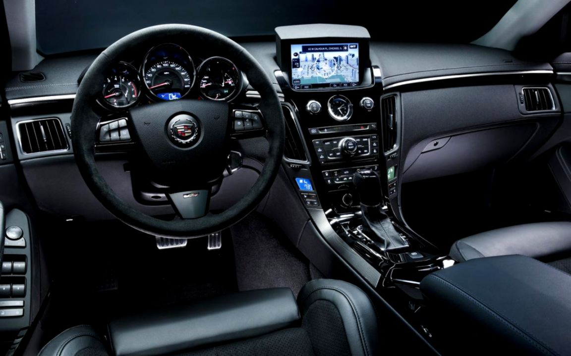 Cadillac Cts V Interior Wide Wallpapers