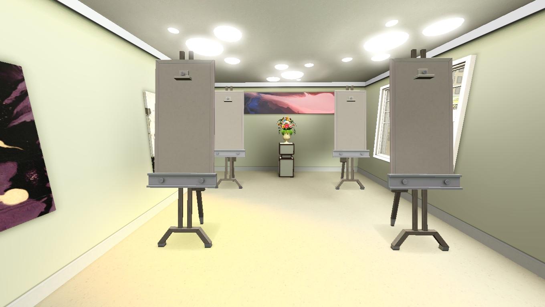 sims 3 easel art class